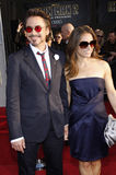 downeyjr robert och Susan Downey Royaltyfri Foto