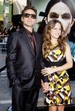 downeyjr robert och Susan Downey Royaltyfri Foto