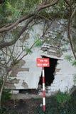 Downgrade, projet de construction, brique cassée de mur Photo stock