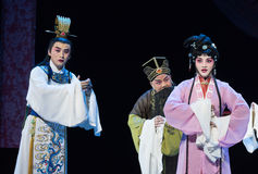 "Downhearted-wealthy and influential family-Jiangxi opera ""Red pearl"" Royalty Free Stock Image"
