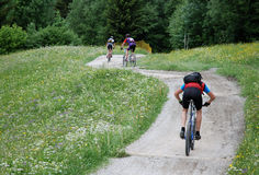 Downhill Stock Images