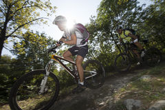 downhill Photographie stock libre de droits