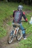 downhill fotos de archivo