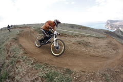 downhill Photo stock
