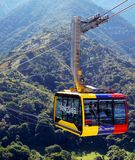 Mukumbari cable car system cabin in Venezuela Royalty Free Stock Photography