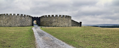 Downhill Demesne Royalty Free Stock Photos
