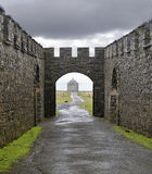 Downhill Demesne and Mussenden temple Stock Photos