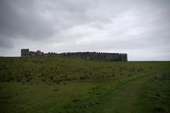 Downhill Demesne a old ruin. Downhill Demesne near londonderry north ireland royalty free stock image