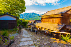 Downhill Path South Entry Magome Nakasendo Trail H Royalty Free Stock Photo