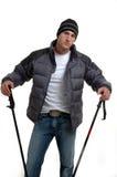 Downhill Skier Royalty Free Stock Photos