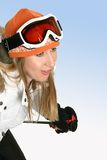 Downhill skier Stock Photography