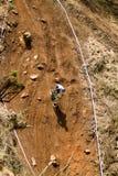 Downhiller solo Fotografia Stock