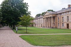 Downing college, Cambridge university Royalty Free Stock Photos