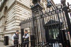 10 Downing Street Λονδίνο Στοκ Εικόνες