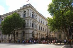 10 Downing Street Λονδίνο Στοκ φωτογραφίες με δικαίωμα ελεύθερης χρήσης
