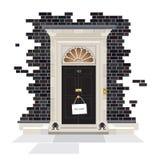 10 Downing Street με το επόμενο σημάδι cWho στοκ εικόνες
