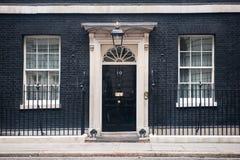 10 Downing Street στο Λονδίνο στοκ φωτογραφία με δικαίωμα ελεύθερης χρήσης