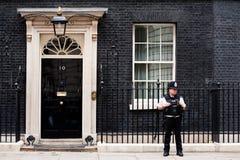 10 Downing Street στο Λονδίνο Στοκ εικόνα με δικαίωμα ελεύθερης χρήσης