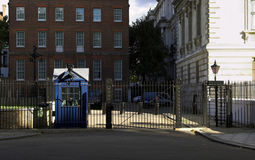 Downing Street. London. Home of the british Prime Minister. (back yard Stock Photography