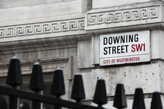 Downing Street Immagine Stock