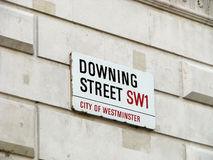 Downing Street Stock Photos