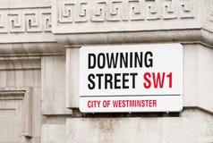 Downing street Royalty Free Stock Photo