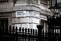 Downing Street Stockbild