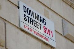 Downing Street Foto de archivo