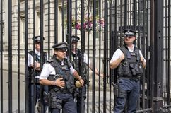 10 Downing Street Stockfoto