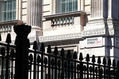 Downing Street Lizenzfreies Stockfoto
