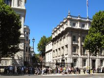 Downing Street Imagens de Stock Royalty Free