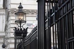 Downing Street Fotografering för Bildbyråer