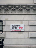 10 Downing Street Photo libre de droits