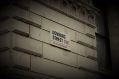 Downing Street Royaltyfri Foto