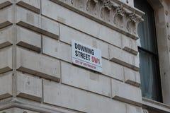 Downing Street Arkivbilder