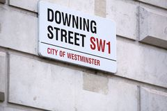 Downing Street de Londres Imagem de Stock Royalty Free