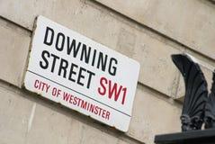 Downing Street, Londen Stock Afbeelding