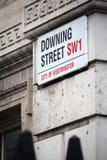 Downing Street Royalty Free Stock Photos