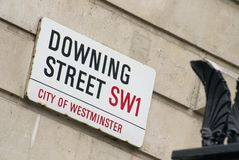 Downing Street, Londres Image stock