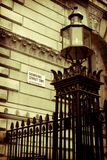 Downing Street Road Sign Royalty Free Stock Photos