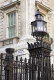 Downing Street, Westminster, Londra Fotografia Stock