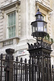 Downing Street, Westminster, Londres photo stock
