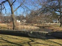 Downingtown Pennsylvania. Kerr Park Downingtown Pennsylvania beautiful Royalty Free Stock Photos