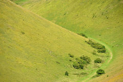 Downland valley. Sussex Downland valley - south downs national ark Stock Photo