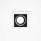 Downlight or Ceiling light. Bottom view Stock Images