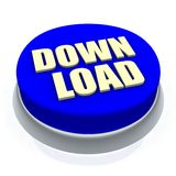 download кнопки Стоковое фото RF