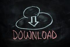 download облака стоковая фотография