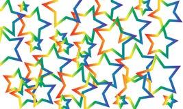 download предпосылки рисуя готовый вектор звезды Стоковая Фотография