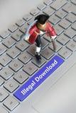 download противозаконный стоковое фото rf
