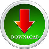 Download. Arrow button white background Royalty Free Stock Photo